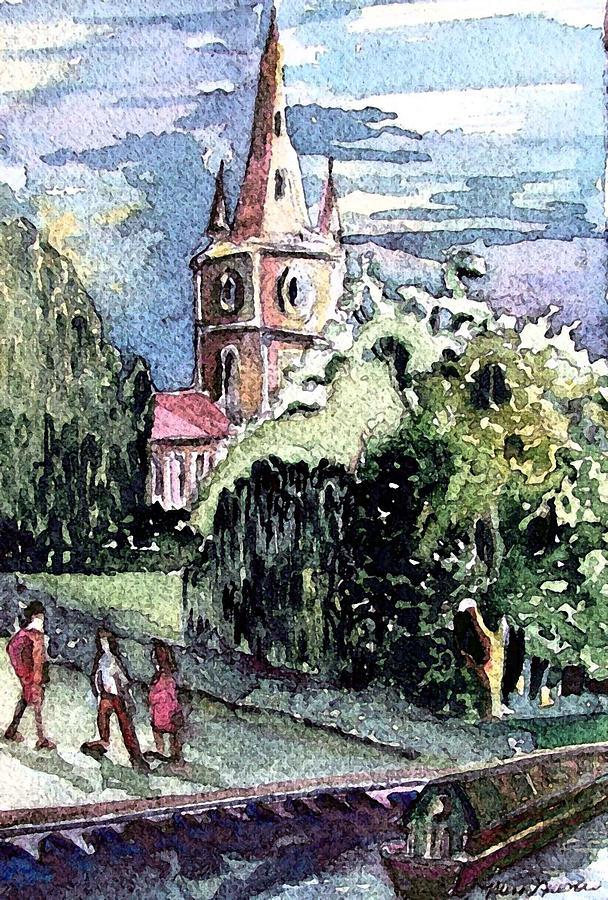Church Of William Shakespeare Painting