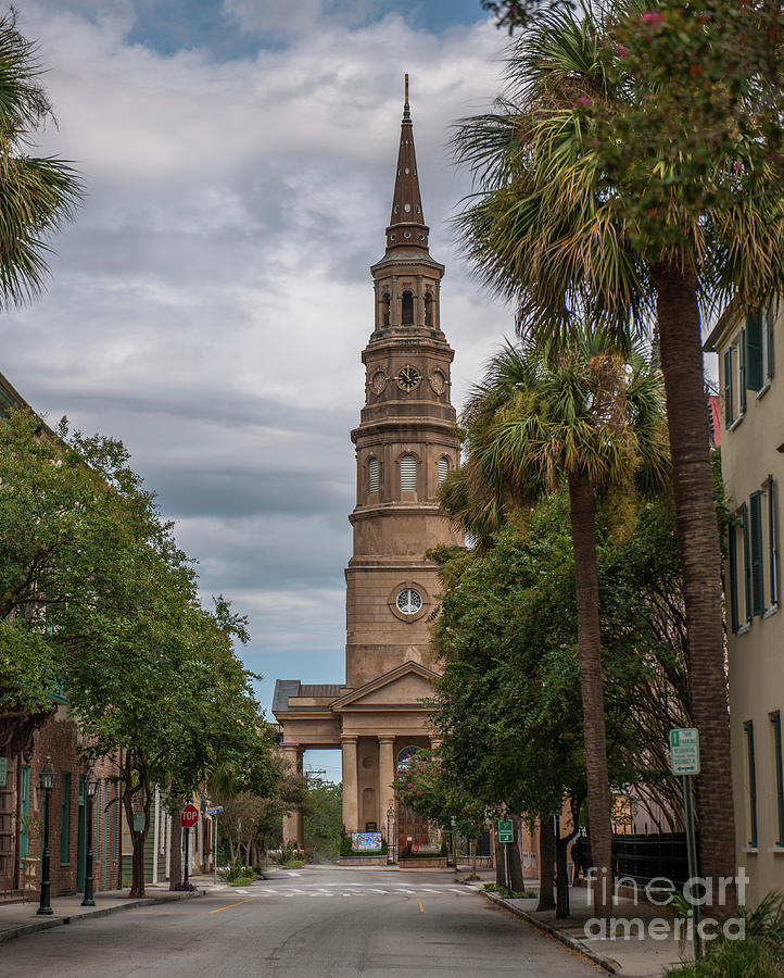 Church Street In Charleston Sc Photograph