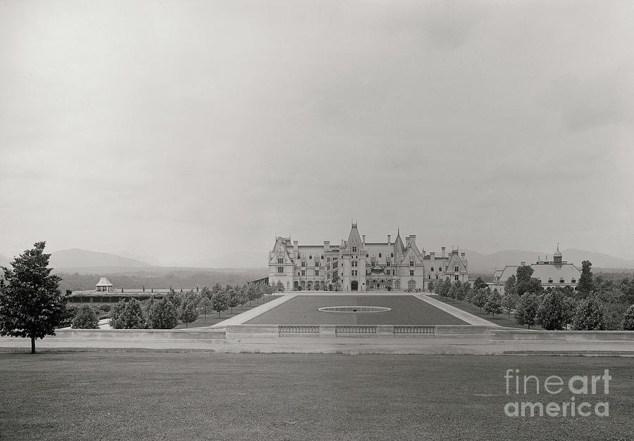 Circa 1895 Biltmore Estate Photograph
