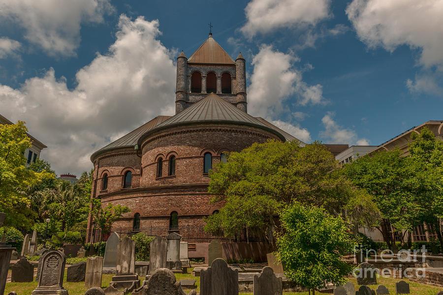 Circular Congregational Church Charleston Photograph