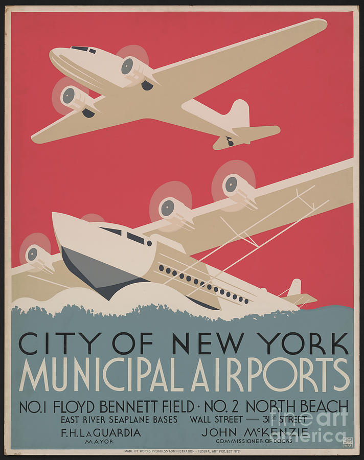 City Of New York Airport Photograph