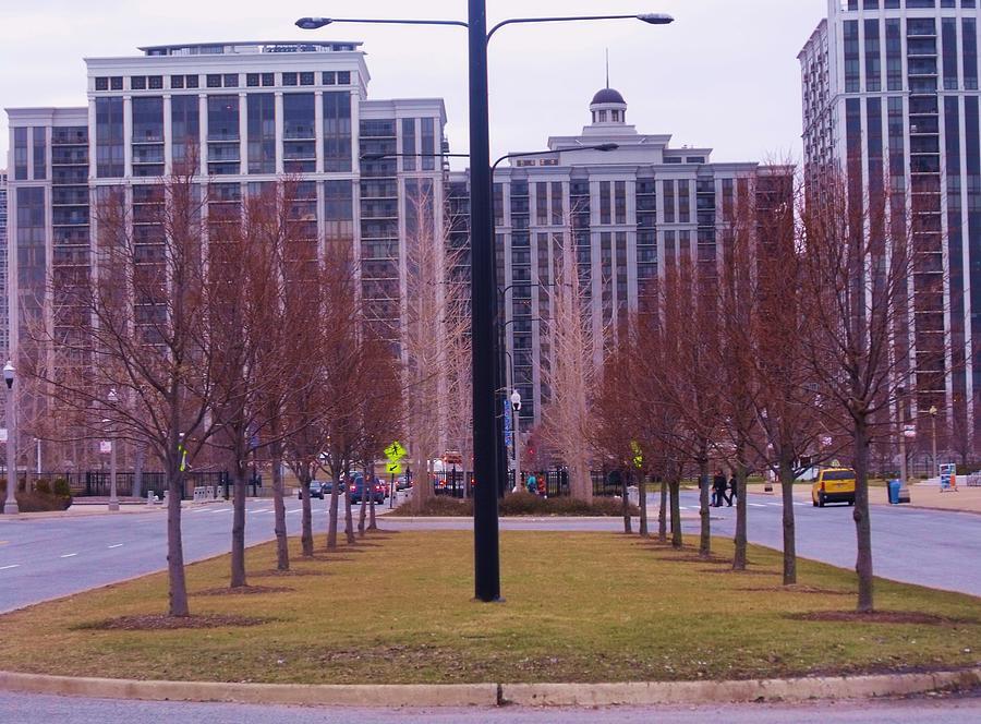 City Symmetry Photograph