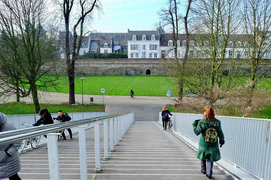 City Wall Maastricht Photograph
