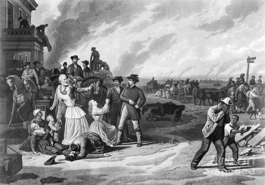 1863 Photograph - Civil War: Martial Law by Granger
