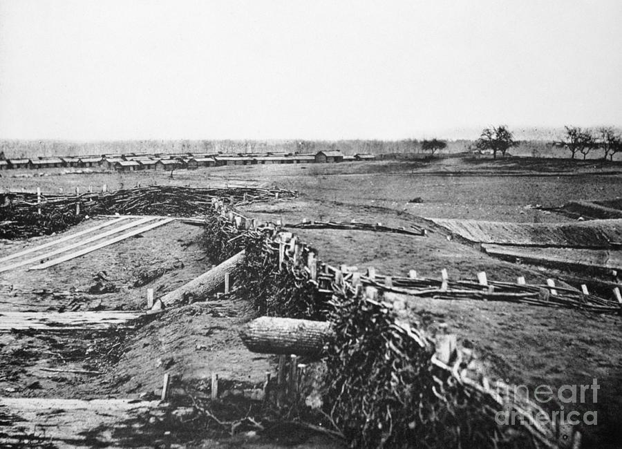 Civil War: Quaker Guns Photograph