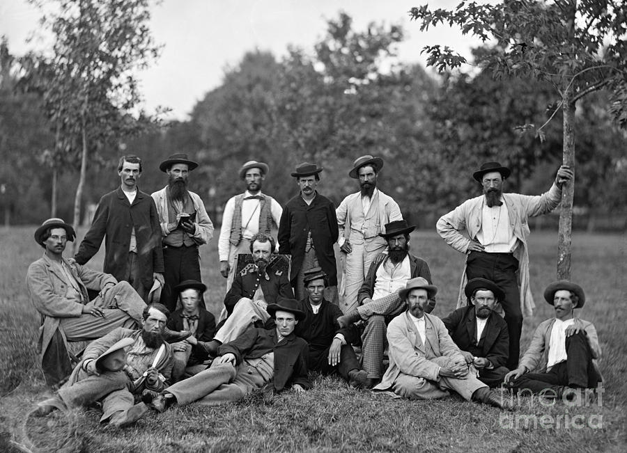 Civil War: Scouts & Guides Photograph