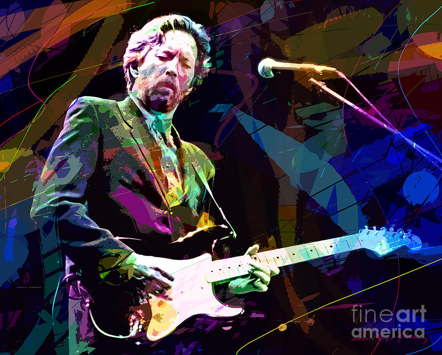 Clapton Live Painting