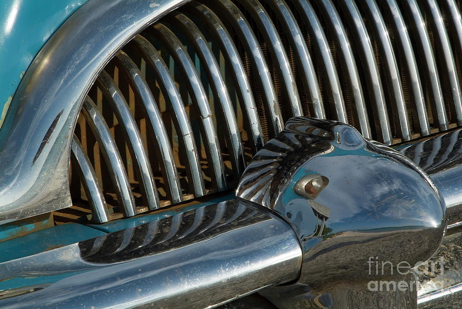 Classic American Car Bumper Photograph
