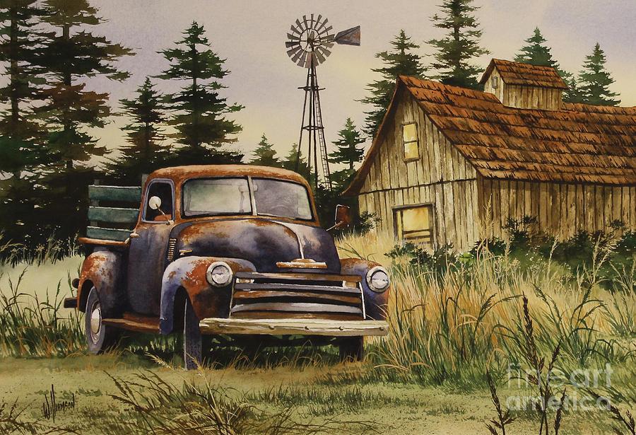 Classic Car Framed Art