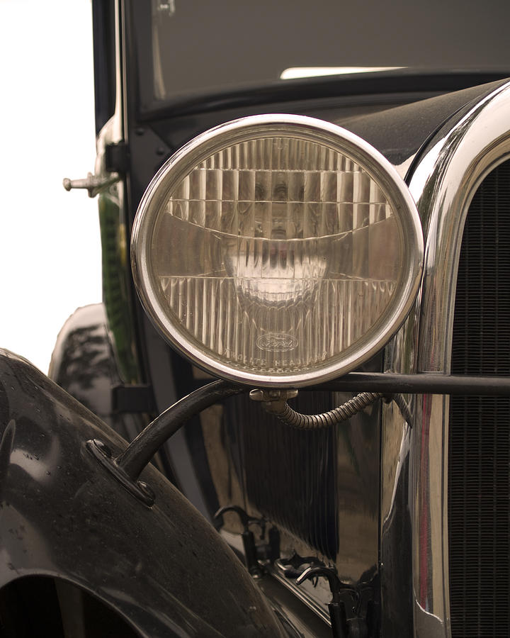 Automobiles Photograph - Classic by Ron Kizer