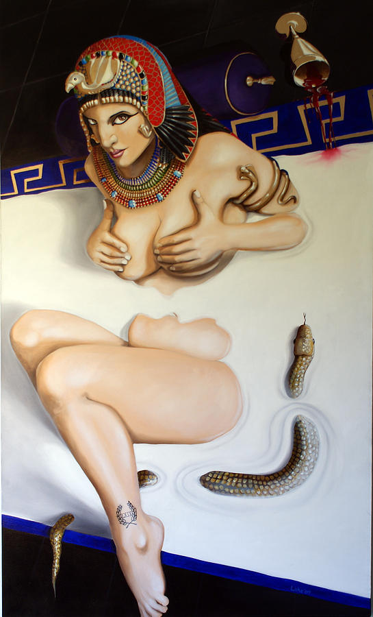 Cleopatra Painting - Cleopatra by Matthew Lake
