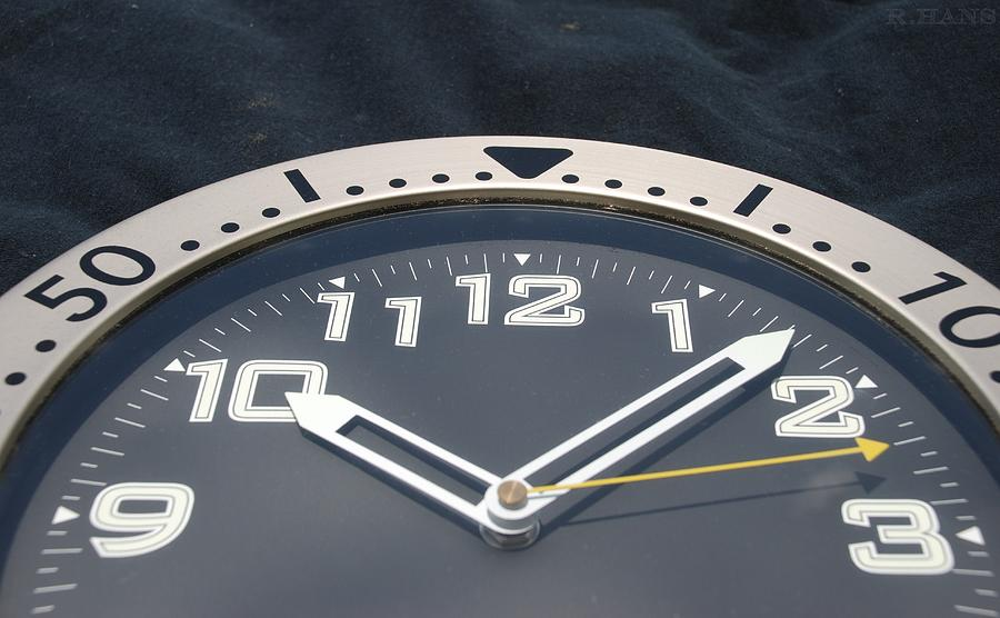 Clock Face Photograph