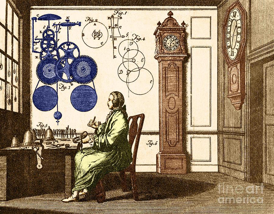 Clockmaker Photograph
