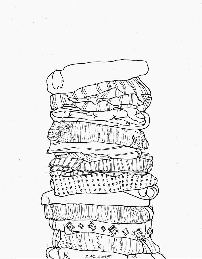 pile drawing by maia aiam