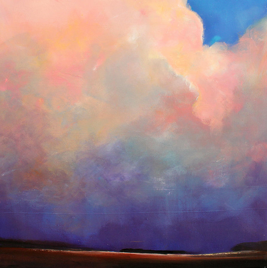 Clouds Painting - Cloud Light by Toni Grote