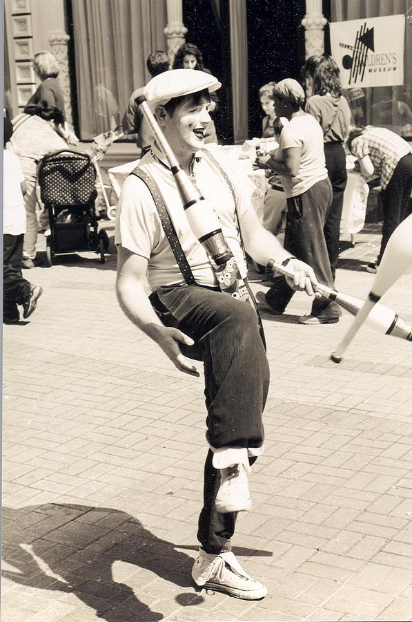 Clown At Work Photograph