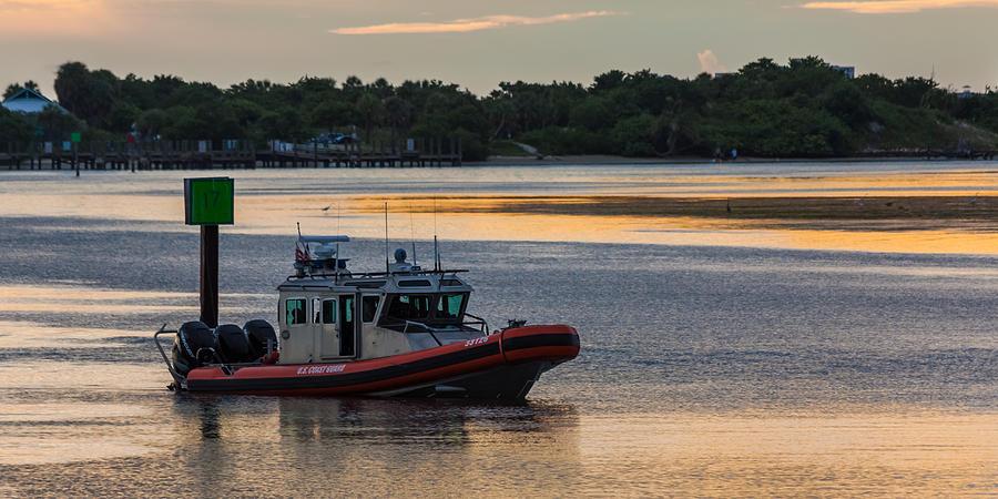 Coast Guard Defender Photograph
