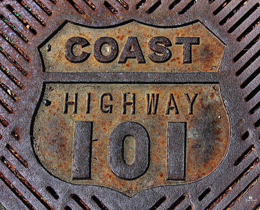 Coast Highway 101 Photograph - Coast Highway 101 by Russ Harris