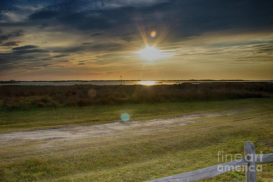 Coastal Sunset Photograph