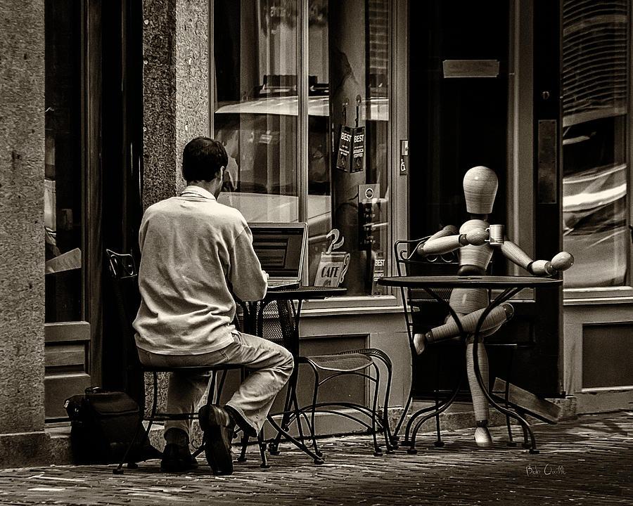 Coffee Photograph - Coffee Break by Bob Orsillo