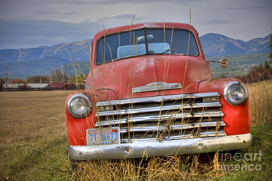 Truck Photograph - Collecting Weeds by Idaho Scenic Images Linda Lantzy