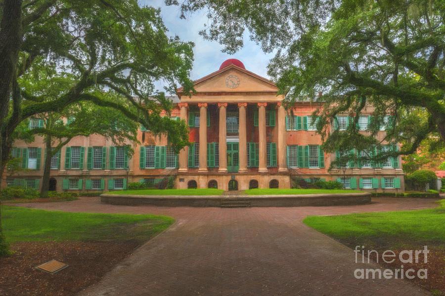 College Of Charleston Main Academic Building Photograph