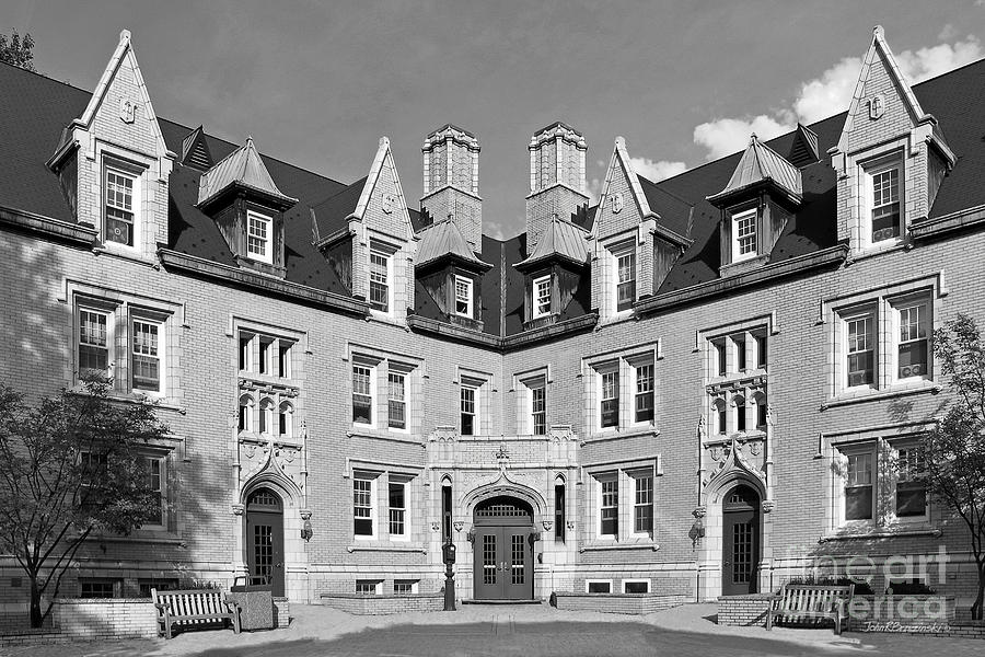 College Of Wooster Photograph - College Of Wooster Kenarden Lodge by University Icons