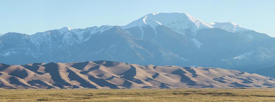 Colorado Great Sand Dunes Panorama Pt 2 Photograph