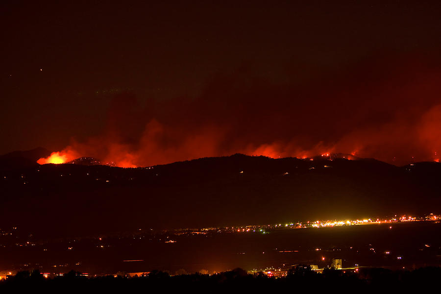 4 Mile Canyon Fire  - Colorado Wildfire Fourmile Canyon Aka Labor Day Fire by James BO  Insogna