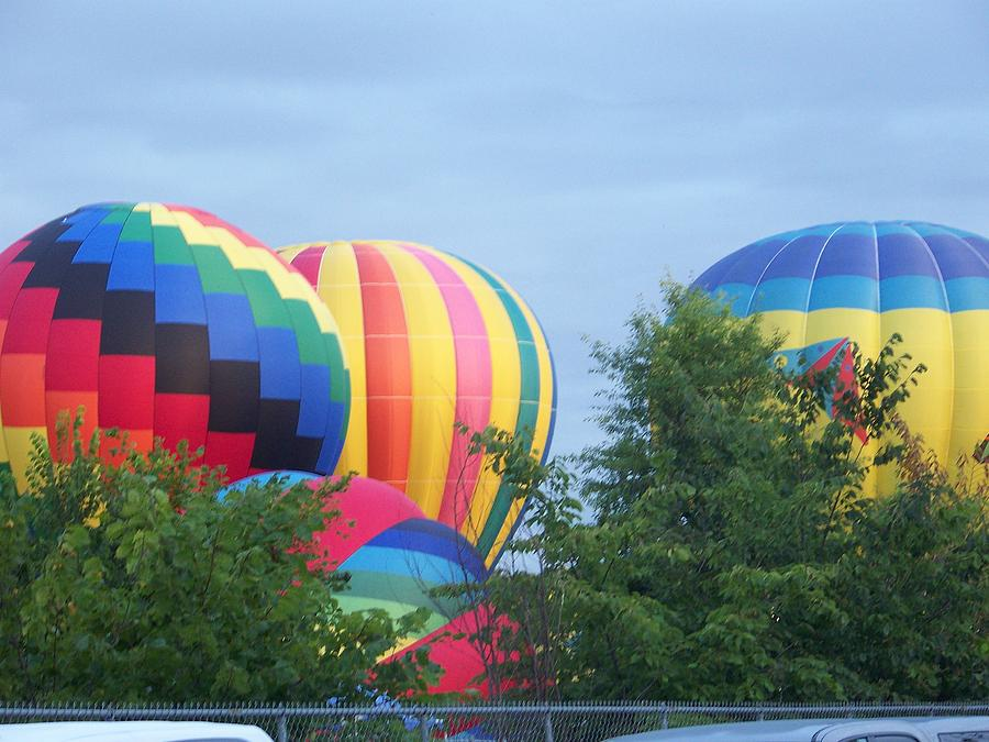 Colorful Hot Air Balloons by Bonny Bartlett