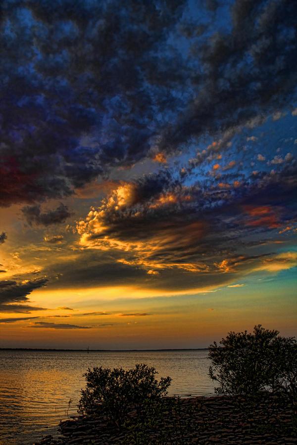 Oklahoma Skies 2 Photograph by Jim McCain