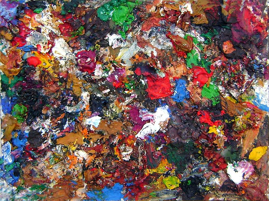 Abstract Painting - Colors To Go by Nardo Ruggieri