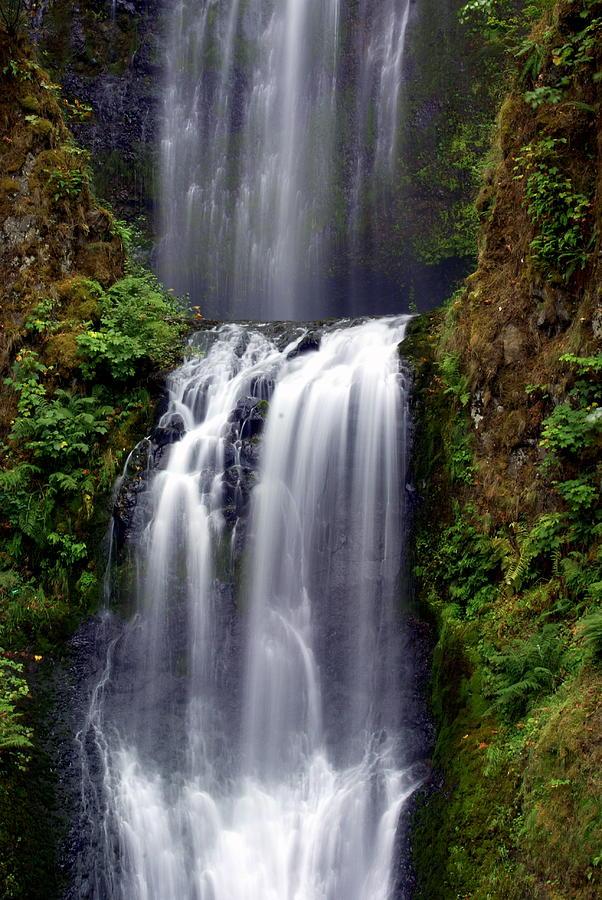 Waterfall Photograph - Columba River Gorge Falls 3 by Marty Koch