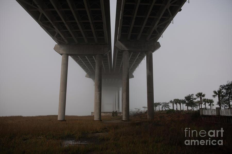 Column Of Fog Photograph