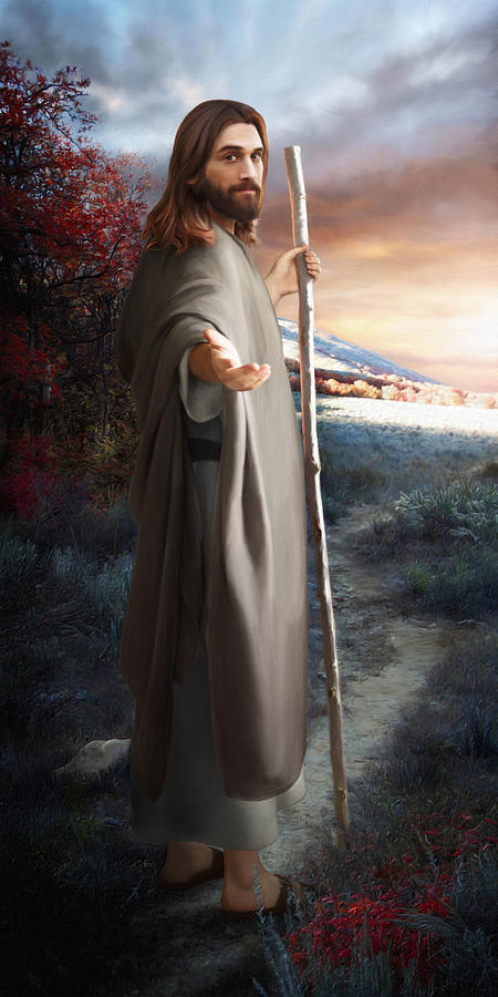 Check Out These Six Stunning Digital Paintings of Jesus ...