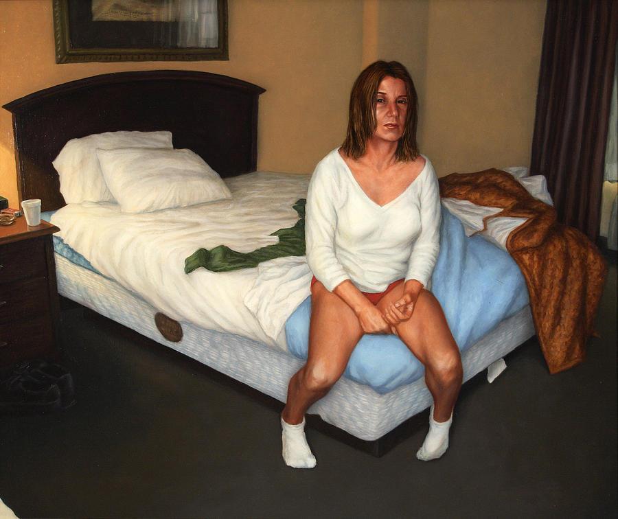 Motel Painting - Comfort Inn by James W Johnson