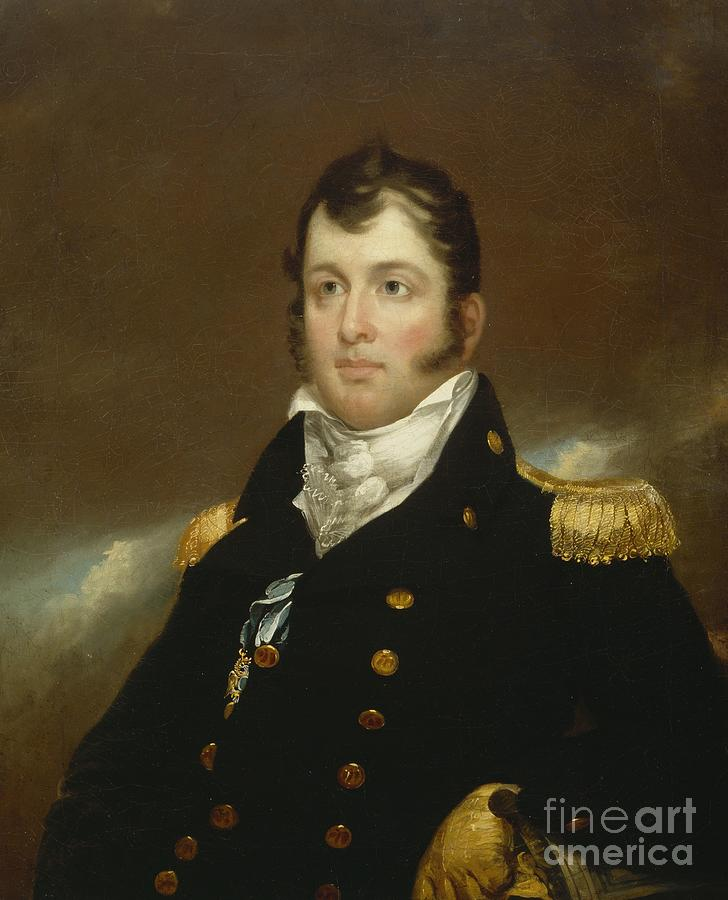 Commodore Oliver Hazard Perry Painting