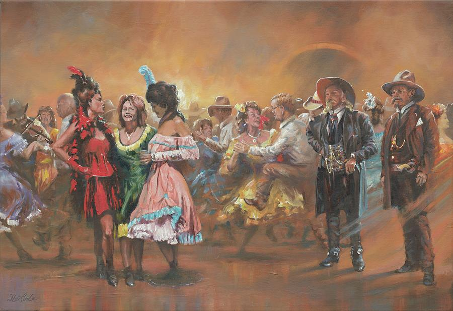 Dancing Painting - Comparing Notes by Mia DeLode