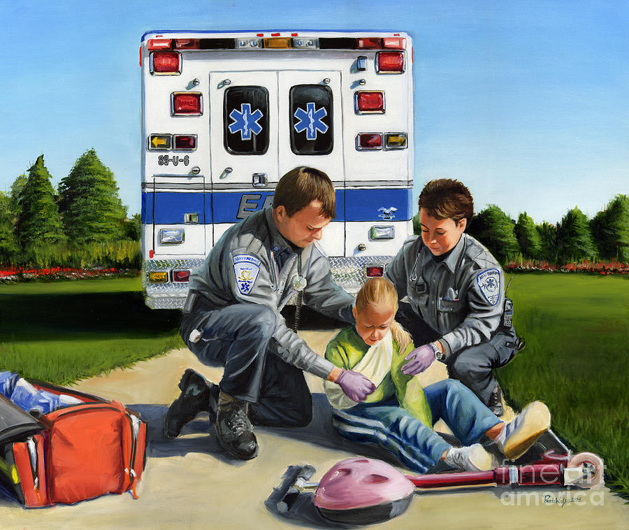 Ems Painting - Compassion by Paul Walsh