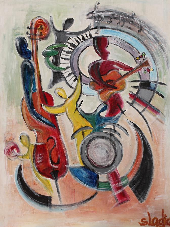 Music Painting - Concert by Sladjana Lazarevic