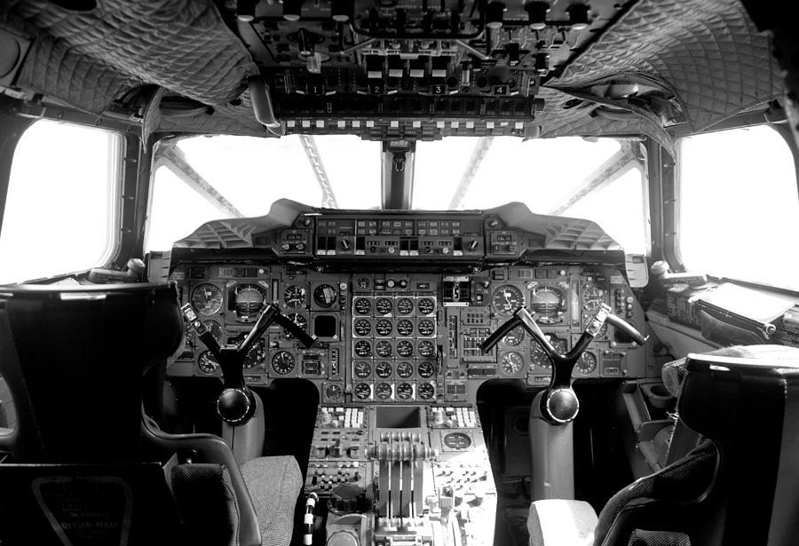 British Airways Photograph - Concorde Cockpit by Patrick  Flynn
