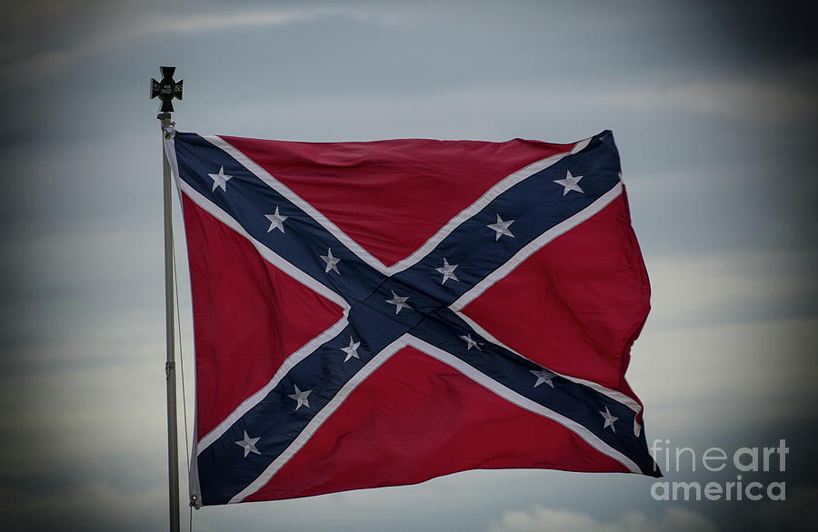 Confederate Flag Photograph