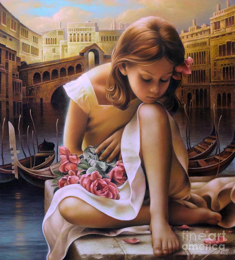 Portrait Painting - Consuelo by Arthur Braginsky