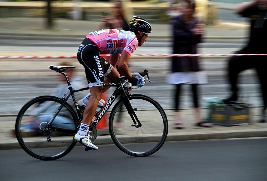 Alberto Contador Photograph - Contador Street Racer by Odd Jeppesen