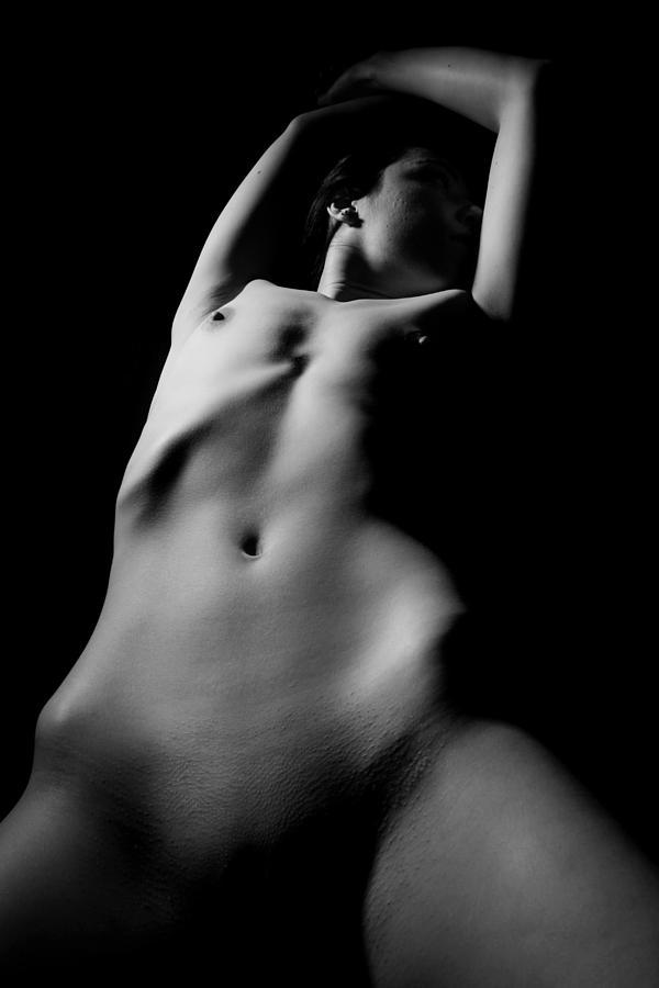 Female Photograph - Contours by Joe Kozlowski