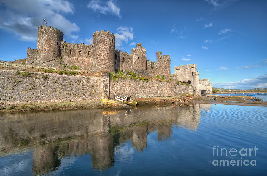 Conwy Castle Photograph