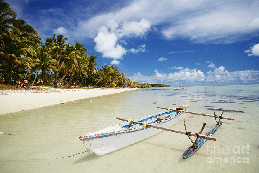 Afternoon Photograph - Cook Islands, Aitutaki by Bob Abraham - Printscapes