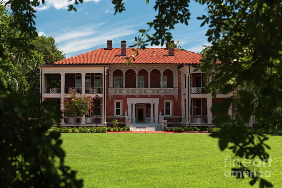 Cooper River Mansion Photograph