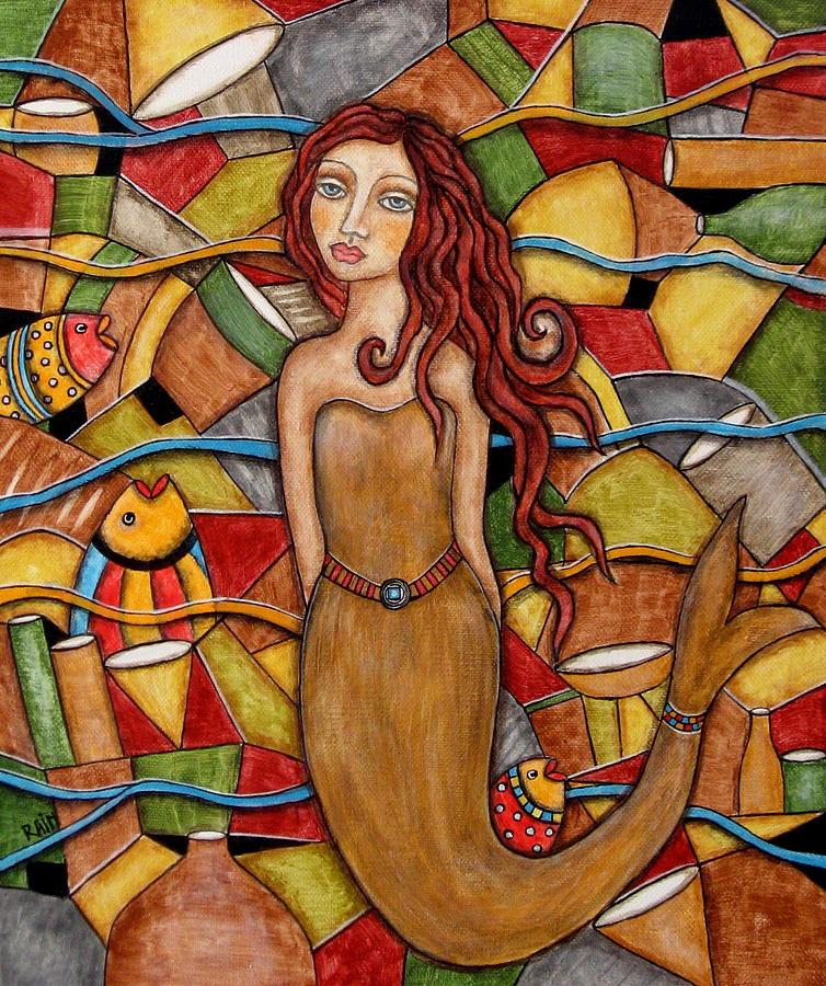 Painting - Cordelia by Rain Ririn