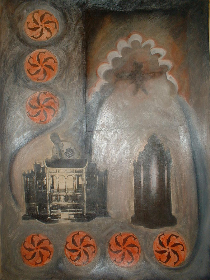 Spain Painting - Cordoba Confessions by Barbara Nesin